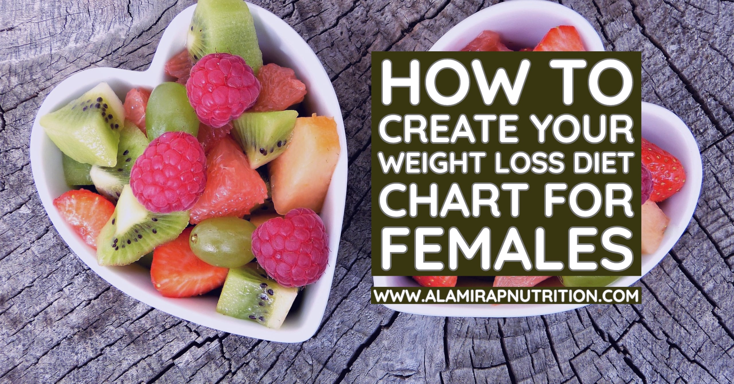 How to Create Your Weight Loss Diet Chart for Females